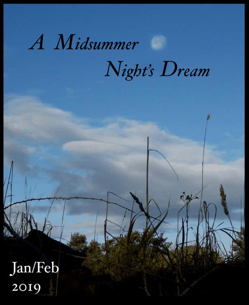 A Midsummer Night's Dream by William Shakespeare - Jan/Feb 2019